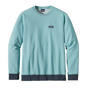 M's P-6 Label Midweight Crew Sweatshirt, Crevasse Blue (CVSB)