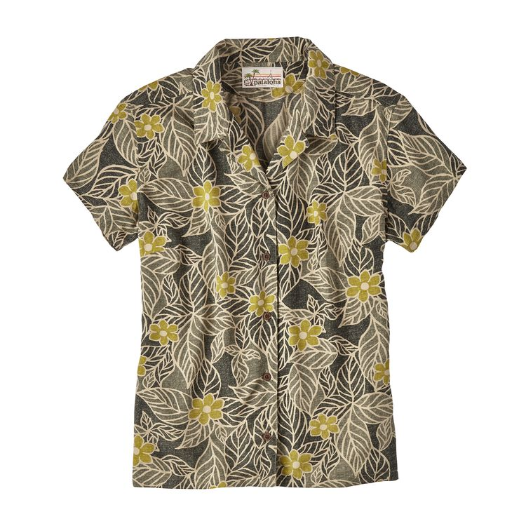 W'S LW PATALOHA SHIRT, Mountain Dogwood: Carbon (MCBN)