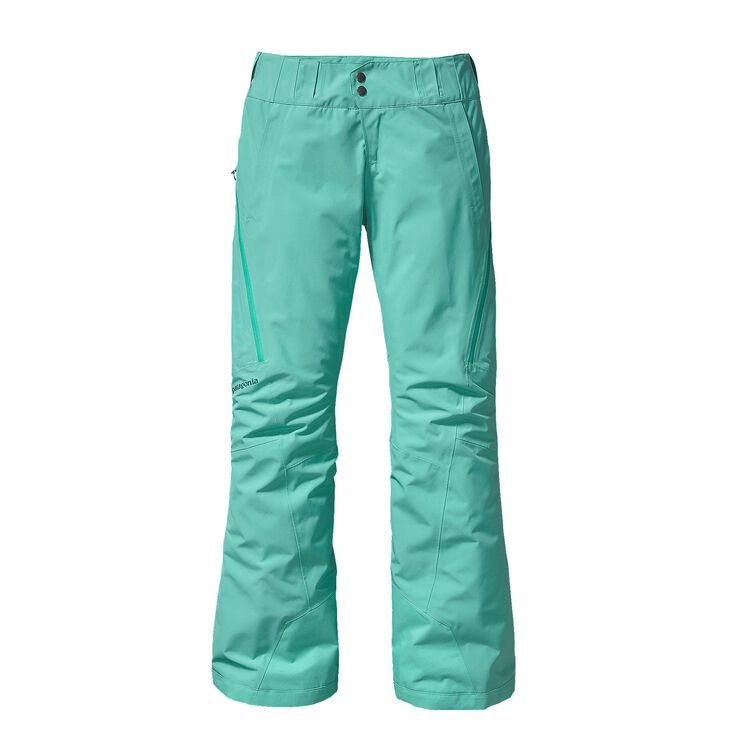W'S SLIM INSULATED POWDER BOWL PANTS, Aqua Stone (AQST)