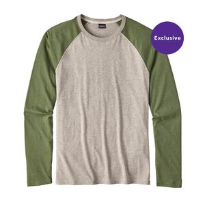 M's Long-Sleeved Clean Color Tee, Clean Mulberry Green (CMYG)