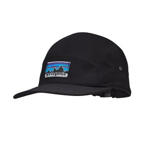 RETRO FITZ ROY LABEL TRADESMITH CAP, Black (BLK)