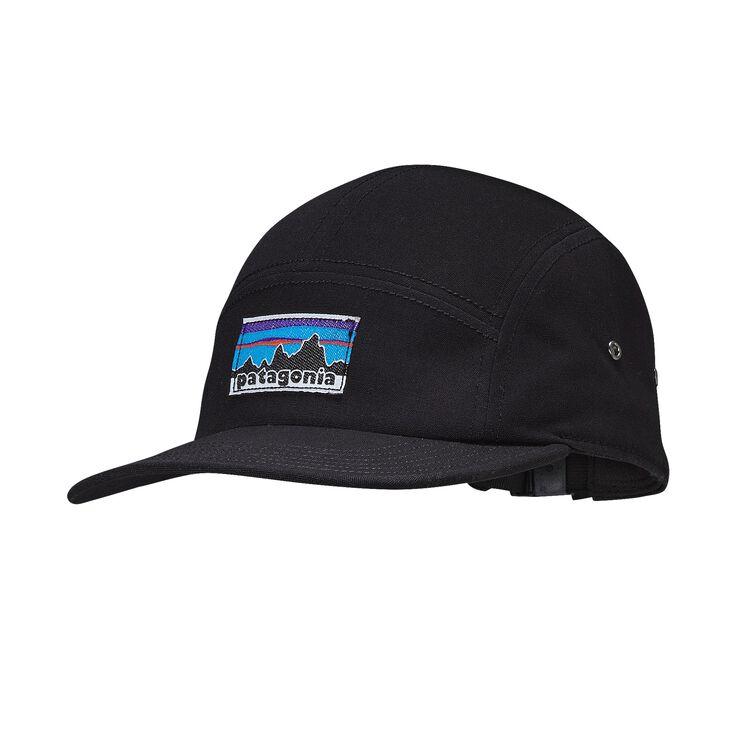 RETRO FITZ ROY LABEL TRADESMITH CAP, Black (BLK)