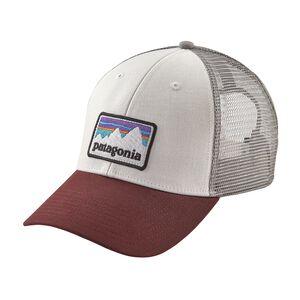Shop Sticker Patch LoPro Trucker Hat, White (WHI)