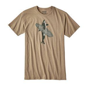 メンズ・ポッズ・オン・イット・オーガニックコットン/ポリ・Tシャツ, Mojave Khaki (MJVK)