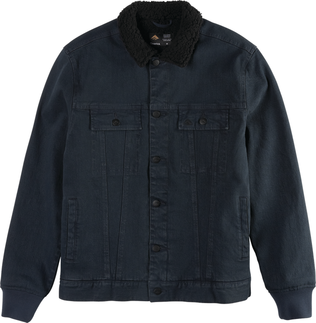 HERES JOHNNY JACKET - BLACK INDIGO - hi-res
