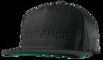 PURE SNAPBACK CAP - BLACK/BLACK - hi-res