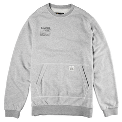 BURRESS CREWNECK - GREY/HEATHER - hi-res