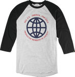 Productive Member Raglan - BLACK/HEATHER - hi-res