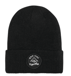 Hard Luck Beanie - BLACK - hi-res