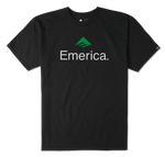 EMERICA SKATEBOARD LOGO - BLACK - hi-res