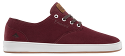 Romero Laced - BURGUNDY/WHITE - hi-res