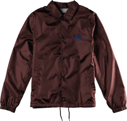 TRIANGLE JACKET - MAROON - hi-res