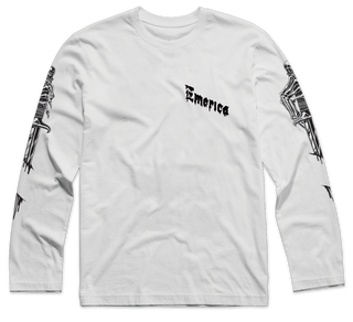 DAGGER SLEEVES LS - WHITE - hi-res
