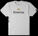 Emerica Skateboard Logo - GREY/HEATHER - hi-res