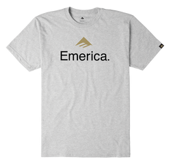 Emerica Skateboard Logo - GREY/HEATHER - hi-res