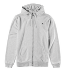 Triangle Zip Hood - GREY/HEATHER - hi-res