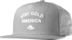 Gold Stand Snapback Cap - GREY/HEATHER - hi-res