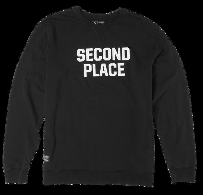 SECOND PLACE CREW - BLACK - hi-res
