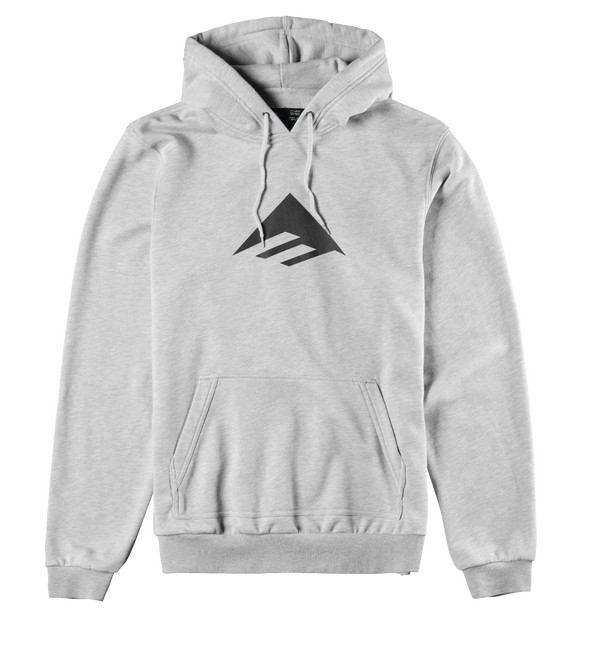 Triangle Pullover Hood - GREY/HEATHER - hi-res
