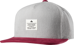 Standard Issue Snapback - GREY/BURGUNDY - hi-res