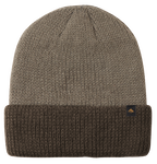 TRIANGLE CUFF BEANIE - TAN/BROWN - hi-res