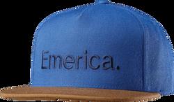 Pure Snapback Cap - BROWN/NAVY - hi-res