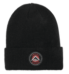 Bevelled Beanie - BLACK - hi-res
