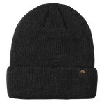TRIANGLE CUFF BEANIE - BLACK - hi-res