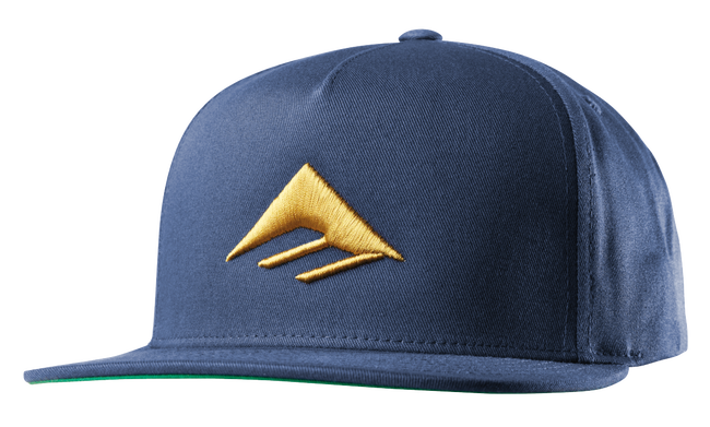 Triangle Snapback Cap - NAVY - hi-res