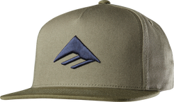 Triangle Snapback Cap - ARMY - hi-res