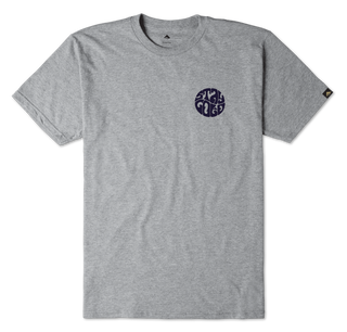 STAY GOLD CIRCLE - GREY/HEATHER - hi-res