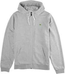 Triangle 2 Zip Hood - GREY/HEATHER - hi-res
