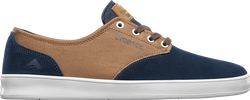 ROMERO LACED - NAVY/BROWN/WHITE - hi-res