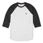 TRIANGLE RAGLAN - BLACK/WHITE - hi-res