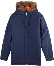 Dusted Parka - NAVY - hi-res