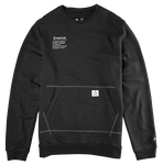 BURRESS CREWNECK - BLACK/BLACK - hi-res