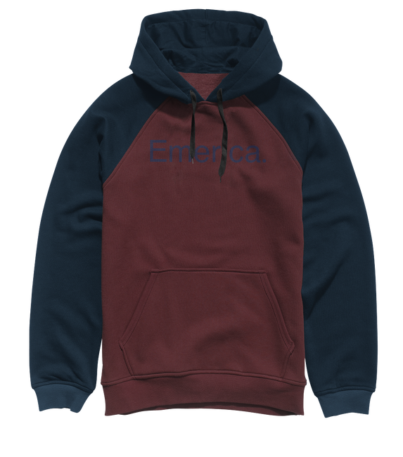 Purity Pullover Raglan - OXBLOOD - hi-res