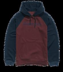 Purity Pullover Raglan - OXBLOOD - hi-res