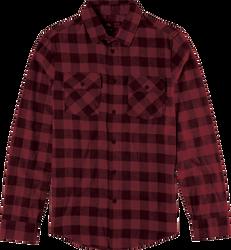 Gutter LS Flannel - RED - hi-res