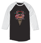HARSH TOKE RAGLAN - BLACK/WHITE - hi-res