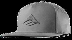 Triangle Snapback Cap - GREY - hi-res