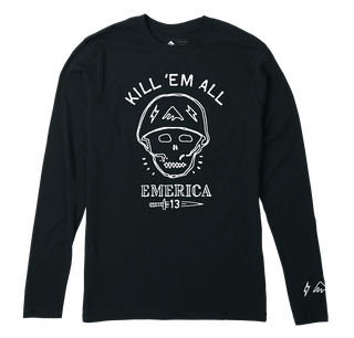 KILL EM ALL LS - BLACK - hi-res