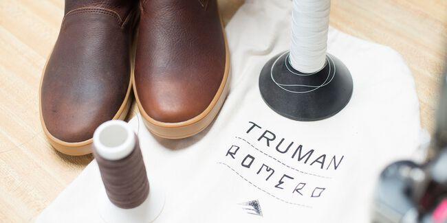 ROMERO HI RESERVE X TRUMAN - BROWN/GUM - hi-res
