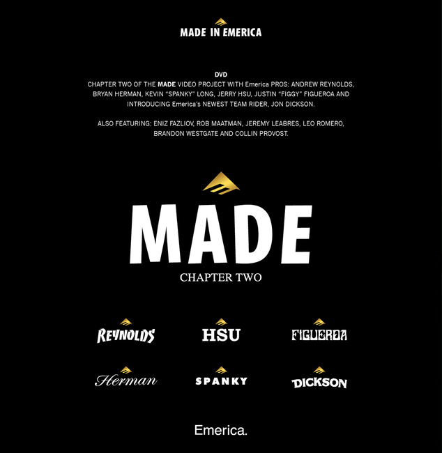 Made Chapter 2 DVD - NO COLOR - hi-res