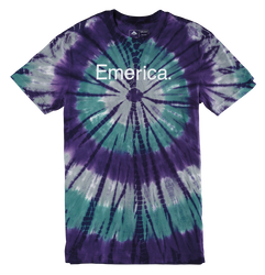 Pure Emerica 12 Burst Tie Dye - DUSTY BLUE - hi-res