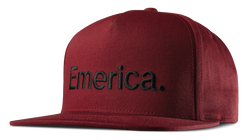 Pure Snapback Cap - BURGUNDY - hi-res