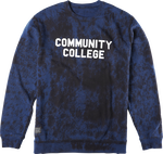 COMMUNITY COLLEGE CREWNECK - NAVY - hi-res