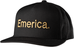 PURE SNAPBACK CAP - BLACK - hi-res