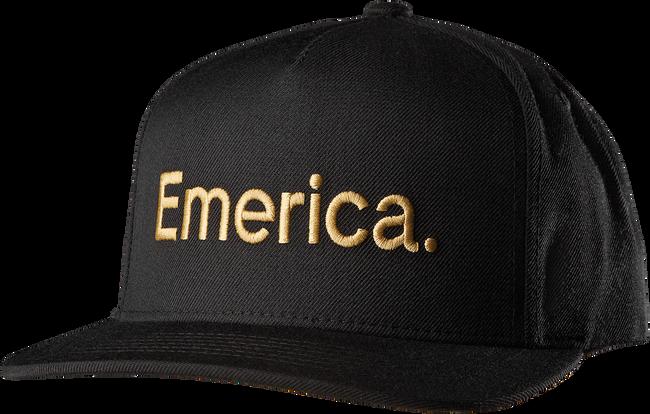 PURE SNAPBACK CAP - BLACK - hi-res