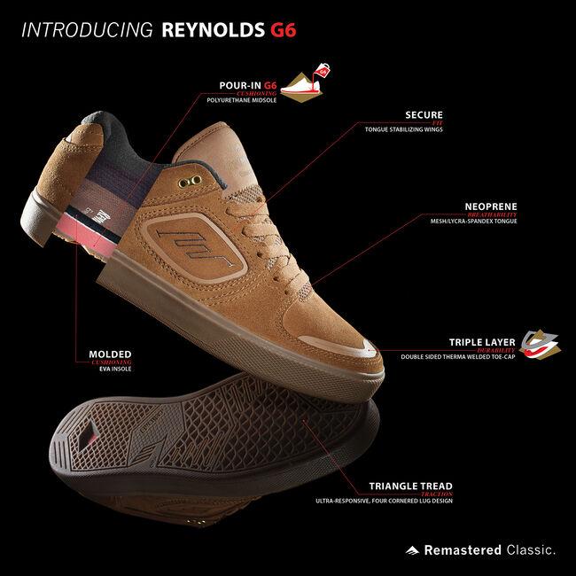 REYNOLDS G6 - BROWN/GUM - hi-res